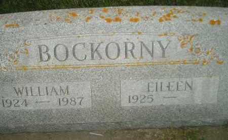 BOCKORNY, WILLIAM - Miner County, South Dakota   WILLIAM BOCKORNY - South Dakota Gravestone Photos