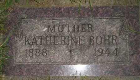 BOHR, KATHERINE - Miner County, South Dakota | KATHERINE BOHR - South Dakota Gravestone Photos