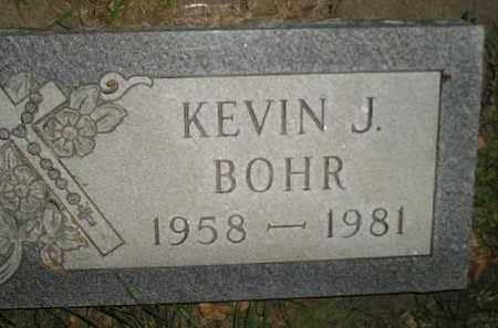 BOHR, KEVIN J. - Miner County, South Dakota   KEVIN J. BOHR - South Dakota Gravestone Photos