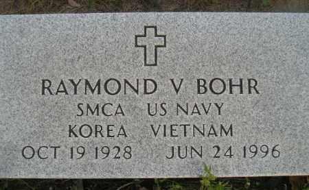 BOHR, RAYMOND V. - Miner County, South Dakota   RAYMOND V. BOHR - South Dakota Gravestone Photos