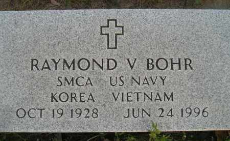 BOHR, RAYMOND V. - Miner County, South Dakota | RAYMOND V. BOHR - South Dakota Gravestone Photos