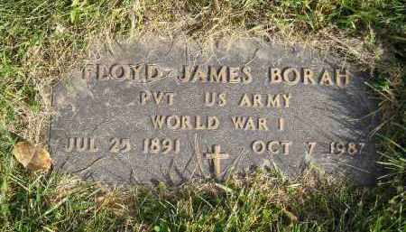 BORAH, FLOYD JAMES - Miner County, South Dakota | FLOYD JAMES BORAH - South Dakota Gravestone Photos