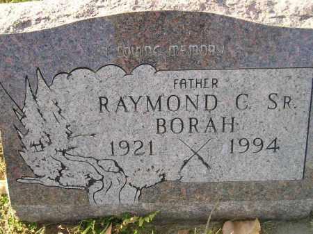 BORAH, RAYMOND C. SR. - Miner County, South Dakota | RAYMOND C. SR. BORAH - South Dakota Gravestone Photos