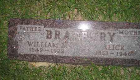 BRADBURY, WILLIAM S. - Miner County, South Dakota   WILLIAM S. BRADBURY - South Dakota Gravestone Photos