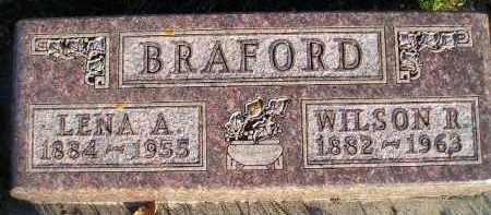 BRAFORD, LENA A. - Miner County, South Dakota | LENA A. BRAFORD - South Dakota Gravestone Photos