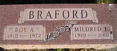 BRAFORD, MILDRED E. MICHEL - Miner County, South Dakota | MILDRED E. MICHEL BRAFORD - South Dakota Gravestone Photos