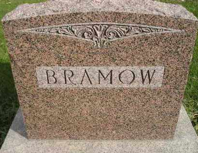 BRAMOW, FAMILY STONE - Miner County, South Dakota | FAMILY STONE BRAMOW - South Dakota Gravestone Photos