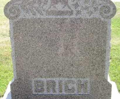 BRICH, FAMILY STONE - Miner County, South Dakota | FAMILY STONE BRICH - South Dakota Gravestone Photos