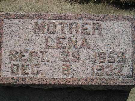 BRICH, LENA - Miner County, South Dakota | LENA BRICH - South Dakota Gravestone Photos