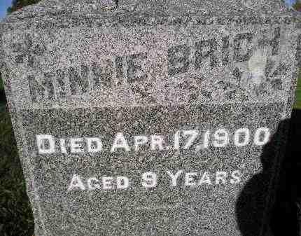 BRICH, MINNIE - Miner County, South Dakota | MINNIE BRICH - South Dakota Gravestone Photos