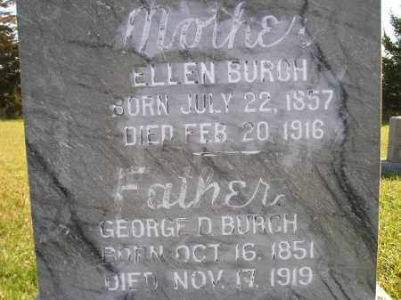 BURCH, ELLEN - Miner County, South Dakota | ELLEN BURCH - South Dakota Gravestone Photos