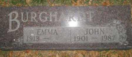 BURGHARDT, JOHN - Miner County, South Dakota | JOHN BURGHARDT - South Dakota Gravestone Photos