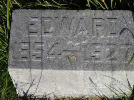 BURKE, EDWARD - Miner County, South Dakota | EDWARD BURKE - South Dakota Gravestone Photos