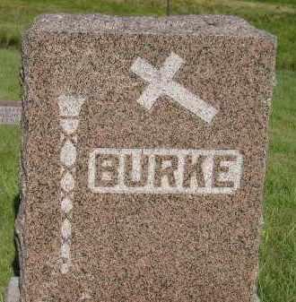 BURKE, FAMILY STONE - Miner County, South Dakota | FAMILY STONE BURKE - South Dakota Gravestone Photos