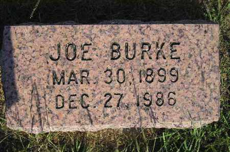 BURKE, JOE - Miner County, South Dakota | JOE BURKE - South Dakota Gravestone Photos