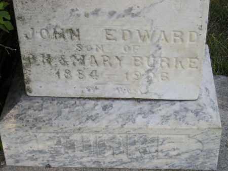 BURKE, JOHN EDWARD - Miner County, South Dakota | JOHN EDWARD BURKE - South Dakota Gravestone Photos
