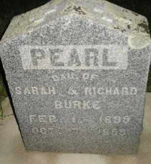 BURKE, PEARL - Miner County, South Dakota | PEARL BURKE - South Dakota Gravestone Photos