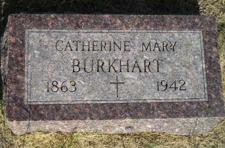 BURKHART, CATHERINE MARY - Miner County, South Dakota | CATHERINE MARY BURKHART - South Dakota Gravestone Photos