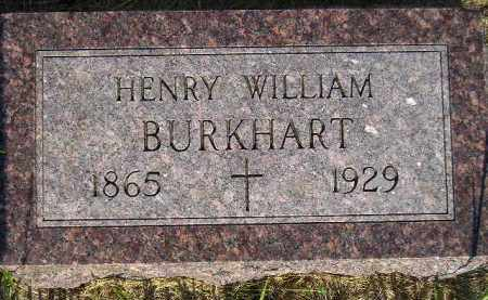BURKHART, HENRY WILLIAM - Miner County, South Dakota | HENRY WILLIAM BURKHART - South Dakota Gravestone Photos
