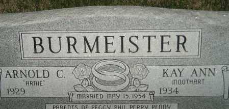 BURMEISTER, KAY ANN - Miner County, South Dakota | KAY ANN BURMEISTER - South Dakota Gravestone Photos
