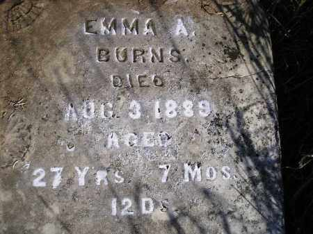 BURNS, EMMA A. - Miner County, South Dakota | EMMA A. BURNS - South Dakota Gravestone Photos