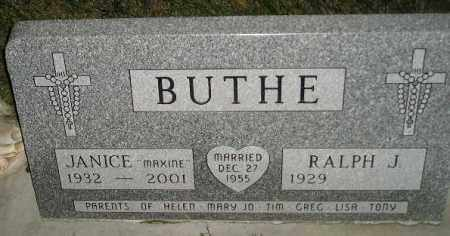 BUTHE, RALPH J. - Miner County, South Dakota | RALPH J. BUTHE - South Dakota Gravestone Photos