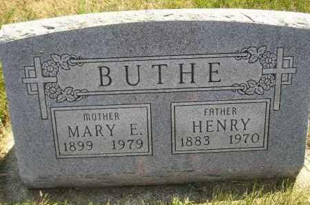 BUTHE, HENRY - Miner County, South Dakota | HENRY BUTHE - South Dakota Gravestone Photos