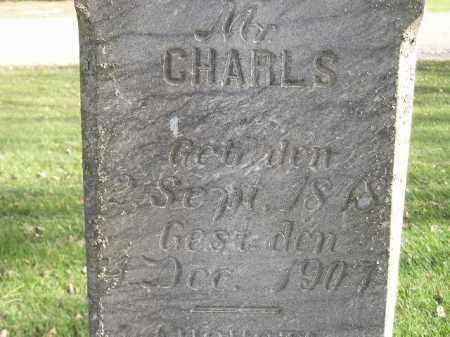 CALLIES, CHARLS - Miner County, South Dakota | CHARLS CALLIES - South Dakota Gravestone Photos