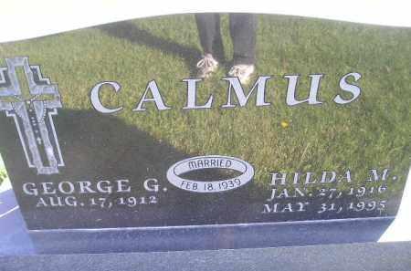 CALMUS, HILDA M. BODE - Miner County, South Dakota | HILDA M. BODE CALMUS - South Dakota Gravestone Photos