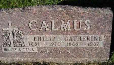 CALMUS, PHILIP - Miner County, South Dakota | PHILIP CALMUS - South Dakota Gravestone Photos
