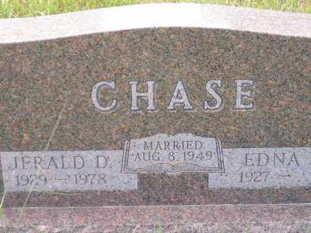 CHASE, EDNA - Miner County, South Dakota | EDNA CHASE - South Dakota Gravestone Photos