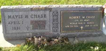 CHASE, ROBERT M. - Miner County, South Dakota | ROBERT M. CHASE - South Dakota Gravestone Photos