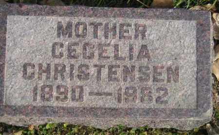 CHRISTENSEN, CECELIA - Miner County, South Dakota | CECELIA CHRISTENSEN - South Dakota Gravestone Photos