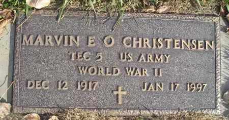 CHRISTENSEN, MARVIN E.O. (WW II) - Miner County, South Dakota | MARVIN E.O. (WW II) CHRISTENSEN - South Dakota Gravestone Photos