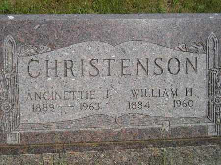 CHRISTENSON, WILLIAM H. - Miner County, South Dakota | WILLIAM H. CHRISTENSON - South Dakota Gravestone Photos