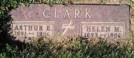CLARK, ARTHUR E. - Miner County, South Dakota | ARTHUR E. CLARK - South Dakota Gravestone Photos