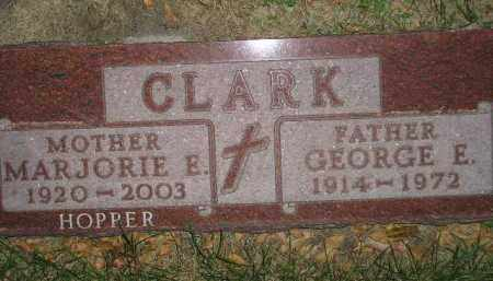 CLARK, GEORGE E. - Miner County, South Dakota | GEORGE E. CLARK - South Dakota Gravestone Photos
