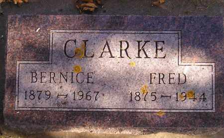 CLARKE, BERNICE - Miner County, South Dakota | BERNICE CLARKE - South Dakota Gravestone Photos
