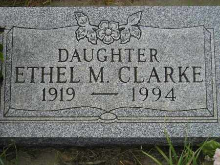 CLARKE, ETHEL M. - Miner County, South Dakota | ETHEL M. CLARKE - South Dakota Gravestone Photos