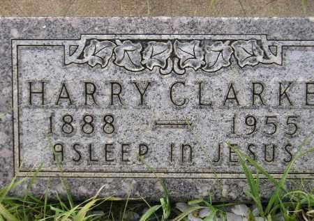 CLARKE, HARRY - Miner County, South Dakota   HARRY CLARKE - South Dakota Gravestone Photos