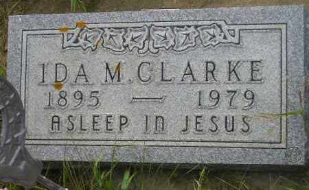 CLARKE, IDA M. - Miner County, South Dakota | IDA M. CLARKE - South Dakota Gravestone Photos