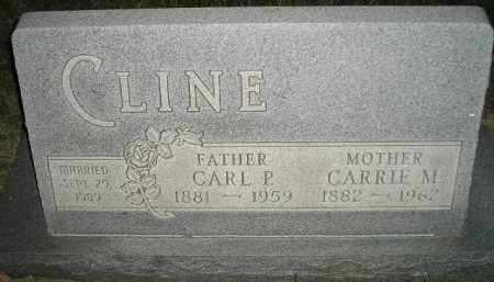 CLINE, CARRIE M. - Miner County, South Dakota | CARRIE M. CLINE - South Dakota Gravestone Photos