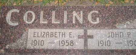 COLLING, JOHN P. - Miner County, South Dakota | JOHN P. COLLING - South Dakota Gravestone Photos