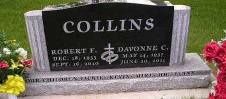 COLLINS, DAVONNE C JOHNSTON - Miner County, South Dakota | DAVONNE C JOHNSTON COLLINS - South Dakota Gravestone Photos