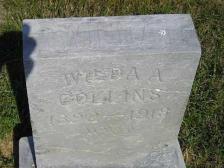 COLLINS, WILDA A. - Miner County, South Dakota | WILDA A. COLLINS - South Dakota Gravestone Photos