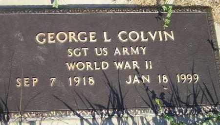 COLVIN, GEORGE L. - Miner County, South Dakota | GEORGE L. COLVIN - South Dakota Gravestone Photos