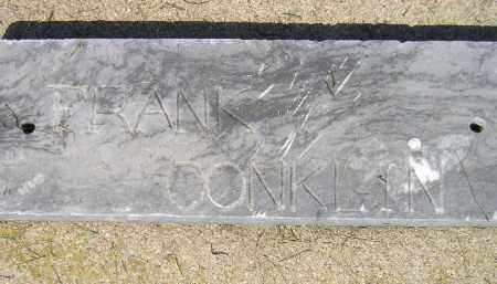 CONKLIN, FRANK - Miner County, South Dakota   FRANK CONKLIN - South Dakota Gravestone Photos