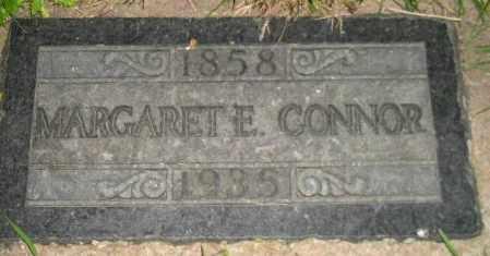 CONNOR, MARGARET E. - Miner County, South Dakota | MARGARET E. CONNOR - South Dakota Gravestone Photos