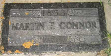 CONNOR, MARTIN F. - Miner County, South Dakota | MARTIN F. CONNOR - South Dakota Gravestone Photos