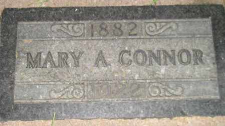 CONNOR, MARY A. - Miner County, South Dakota | MARY A. CONNOR - South Dakota Gravestone Photos